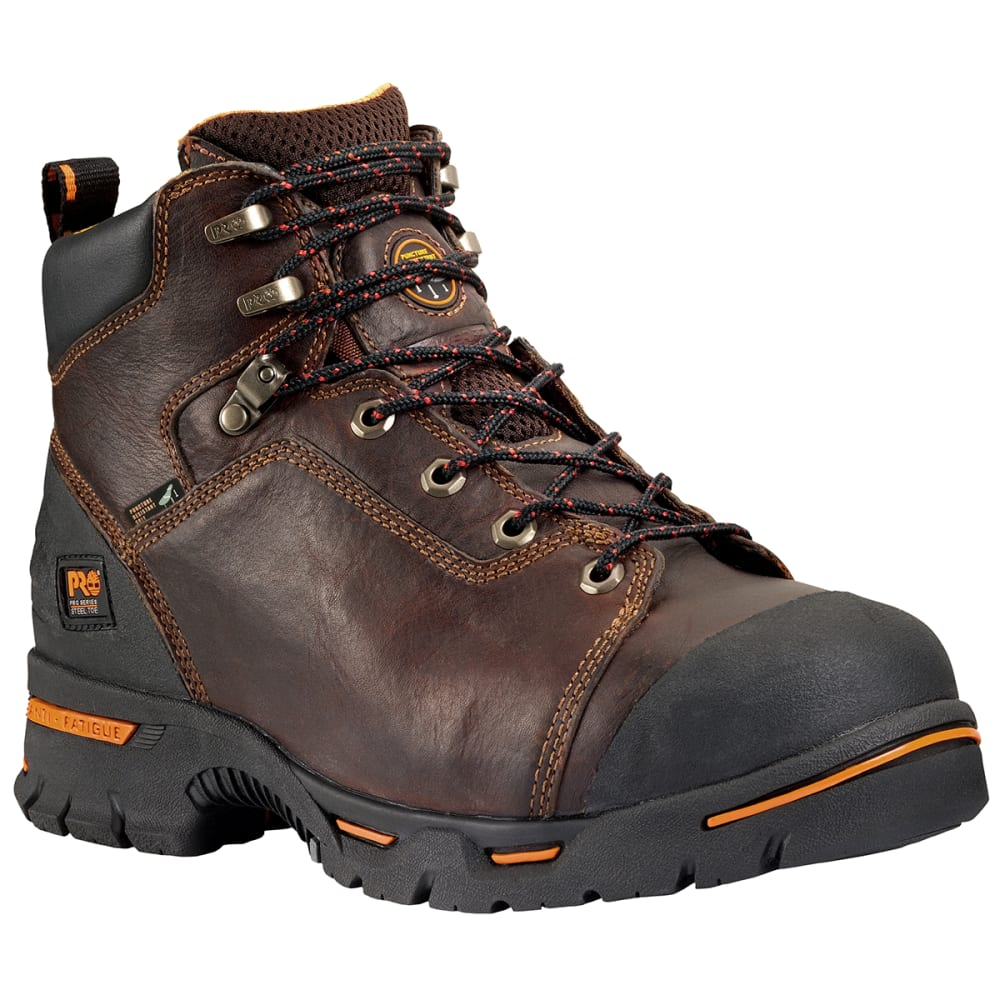 "TIMBERLAND PRO Men's Endurance PR 6"" Steel Toe Work Boots, Wide 7"