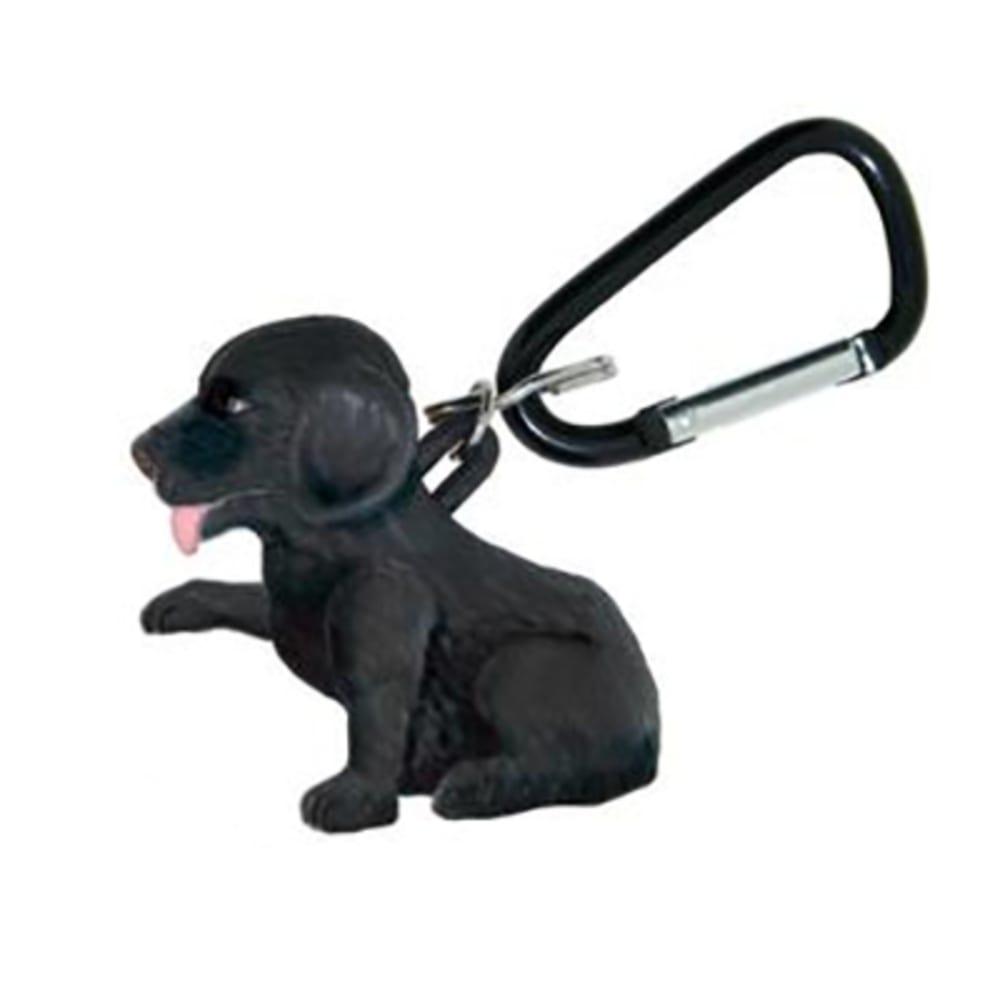 SUNCOMPANY LifeLight Animal LED Carabiner Flashlight - BLACK LABRADOR
