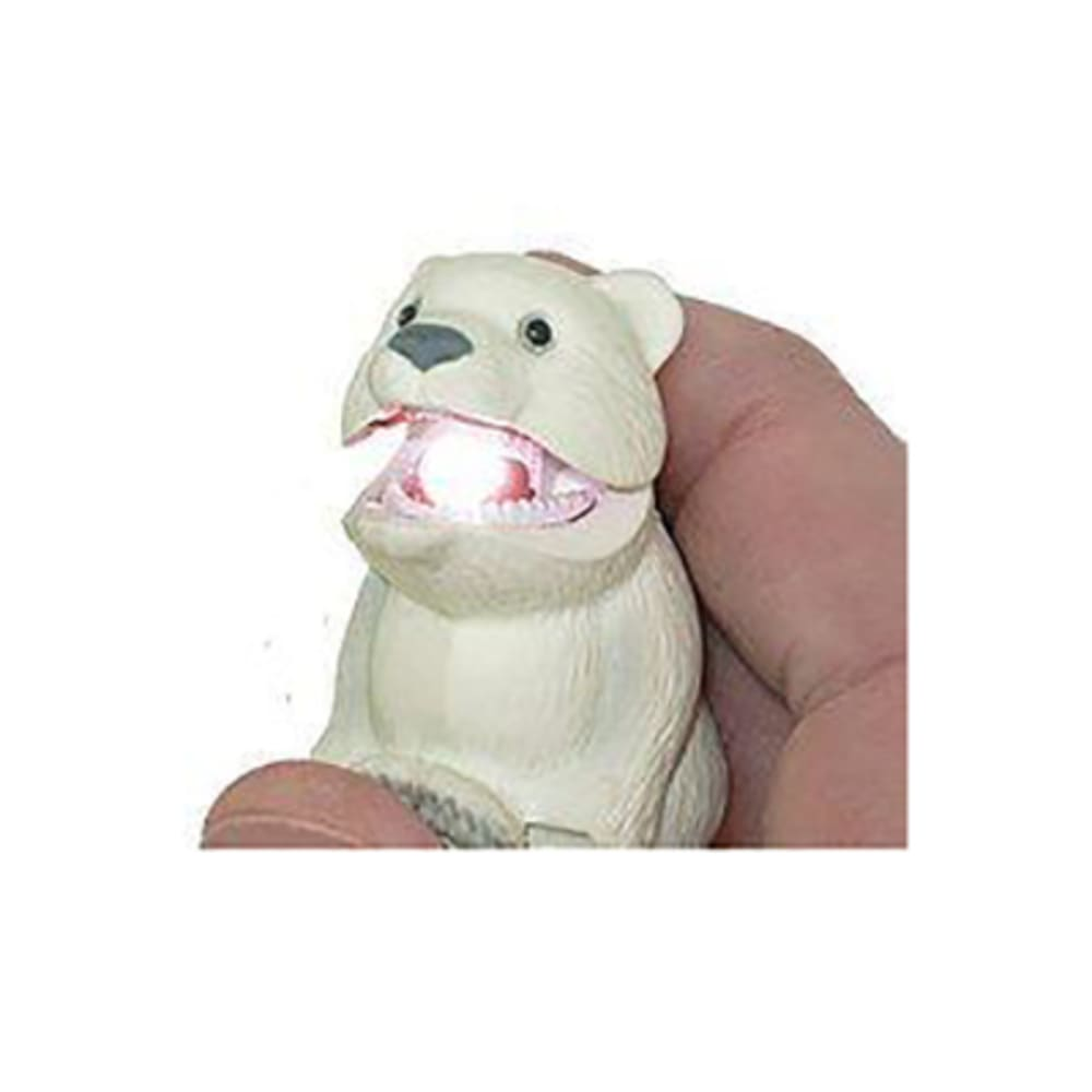 SUNCOMPANY LifeLight Animal LED Carabiner Flashlight - POLAR BEAR