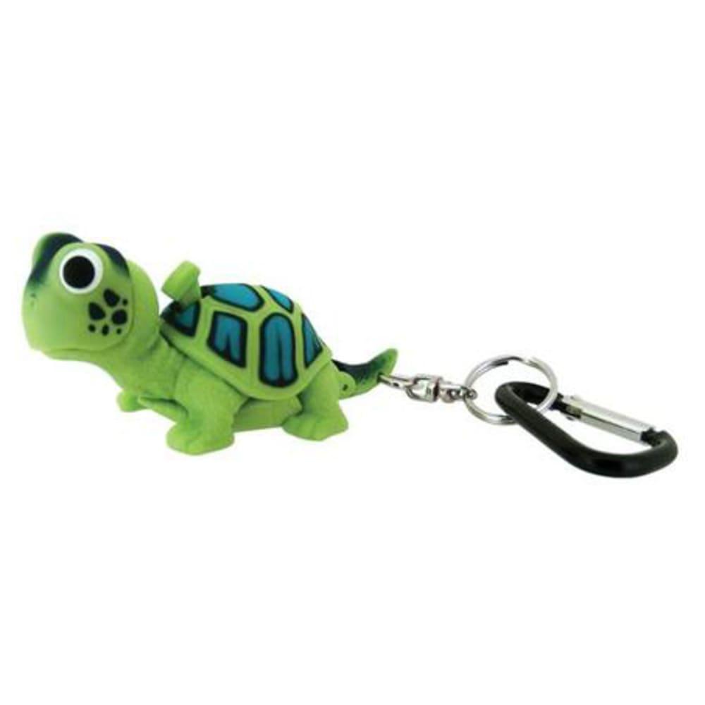 SUNCOMPANY LifeLight Animal LED Carabiner Flashlight - GREEN TURTLE