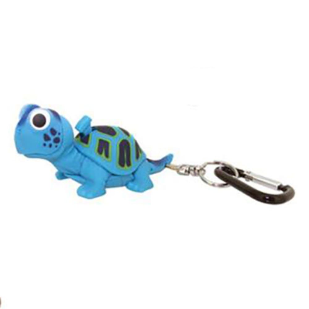 SUNCOMPANY LifeLight Animal LED Carabiner Flashlight - BLUE TURTLE