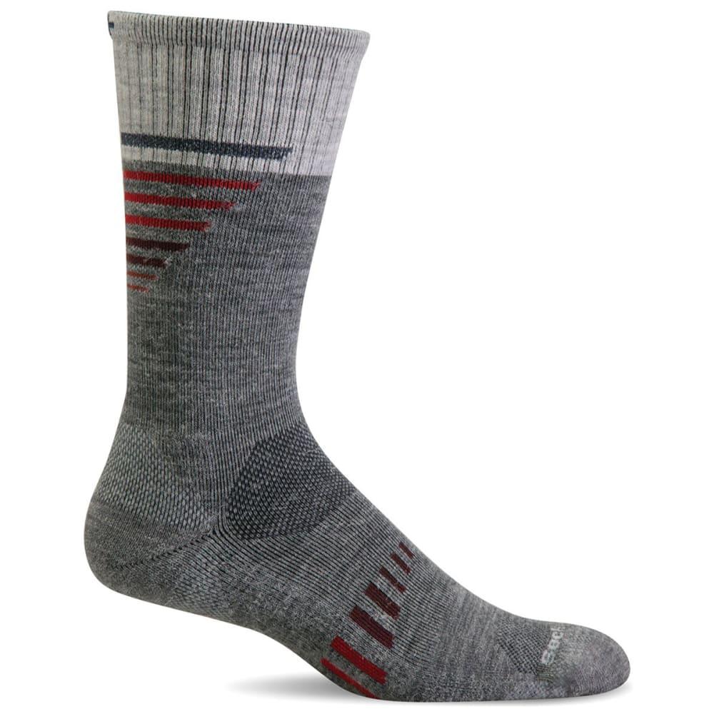 SOCKWELL Ascend II Crew Compression Socks - GREY 800