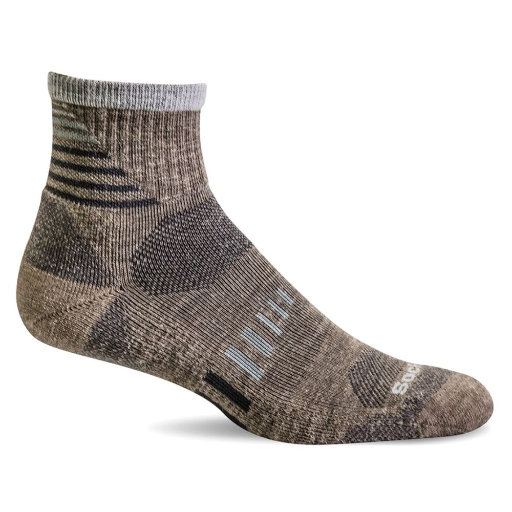 SOCKWELL Ascend II Quarter Compression Socks - KHAKI 030