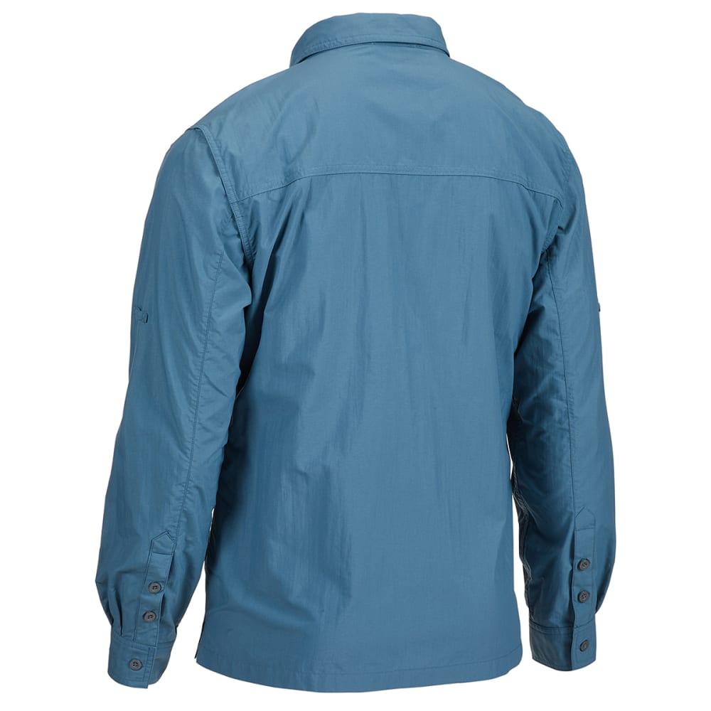 EMS Men's Trailhead Long-Sleeve Shirt - INDIAN TEAL