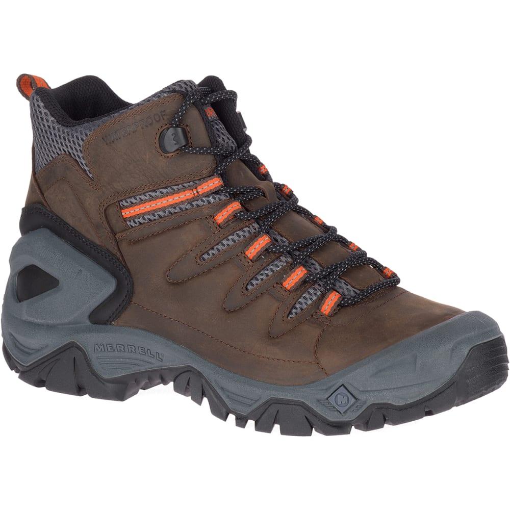MERRELL Men's Strongbound Peak Mid Waterproof Hiking Boot 9