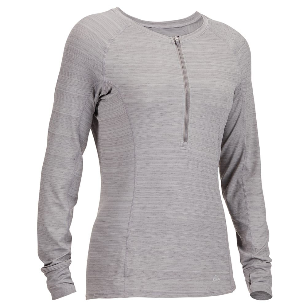 EMS Women's Long-Sleeve Half-Zip Deck Top XS