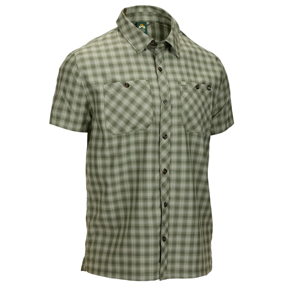 EMS Men's Forrester Short-Sleeve Button-Down Shirt - THYME