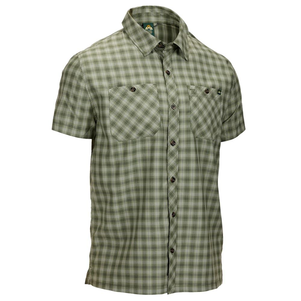 EMS Men's Forrester Short-Sleeve Button-Down Shirt - Size L