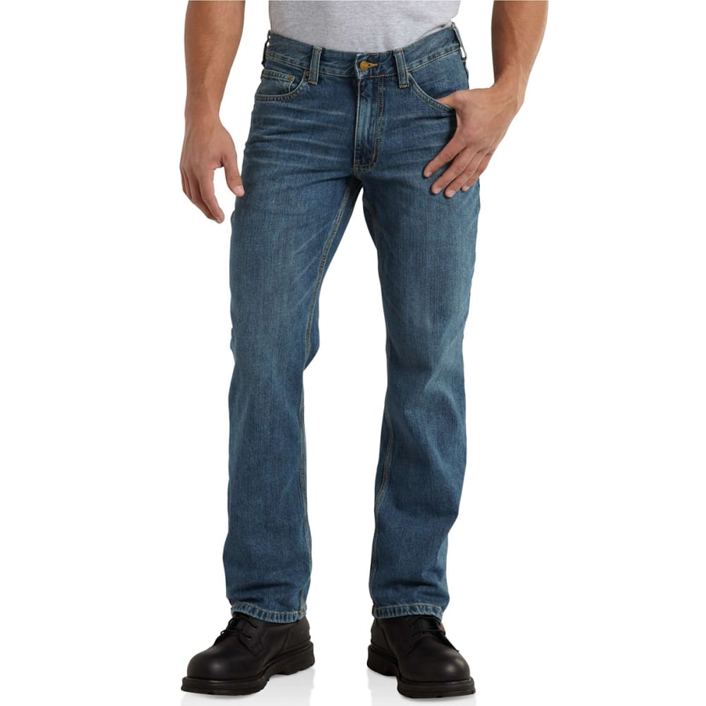 CARHARTT Men's Series 1889 Relaxed Fit Straight Leg Jean - RIVERBEND 997