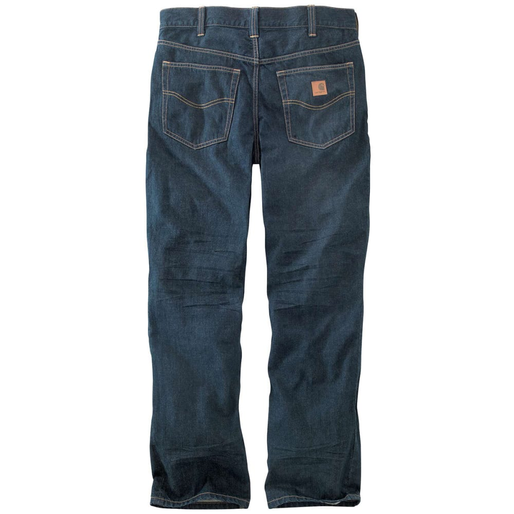CARHARTT Men's 101019 M 1889 Loose Straight Jeans - BROKEN IN BLUE 960