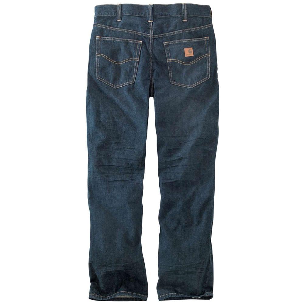 CARHARTT Men's 101019 M 1889 Loose Straight Jeans - BROKEN IN BLUE 960