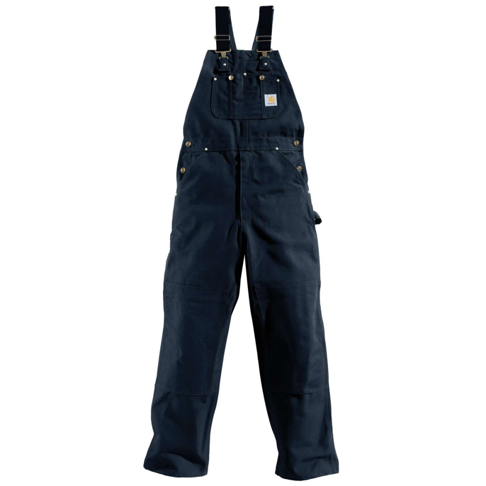 CARHARTT Men's Duck Bib Overall - DNY DARK NAVY