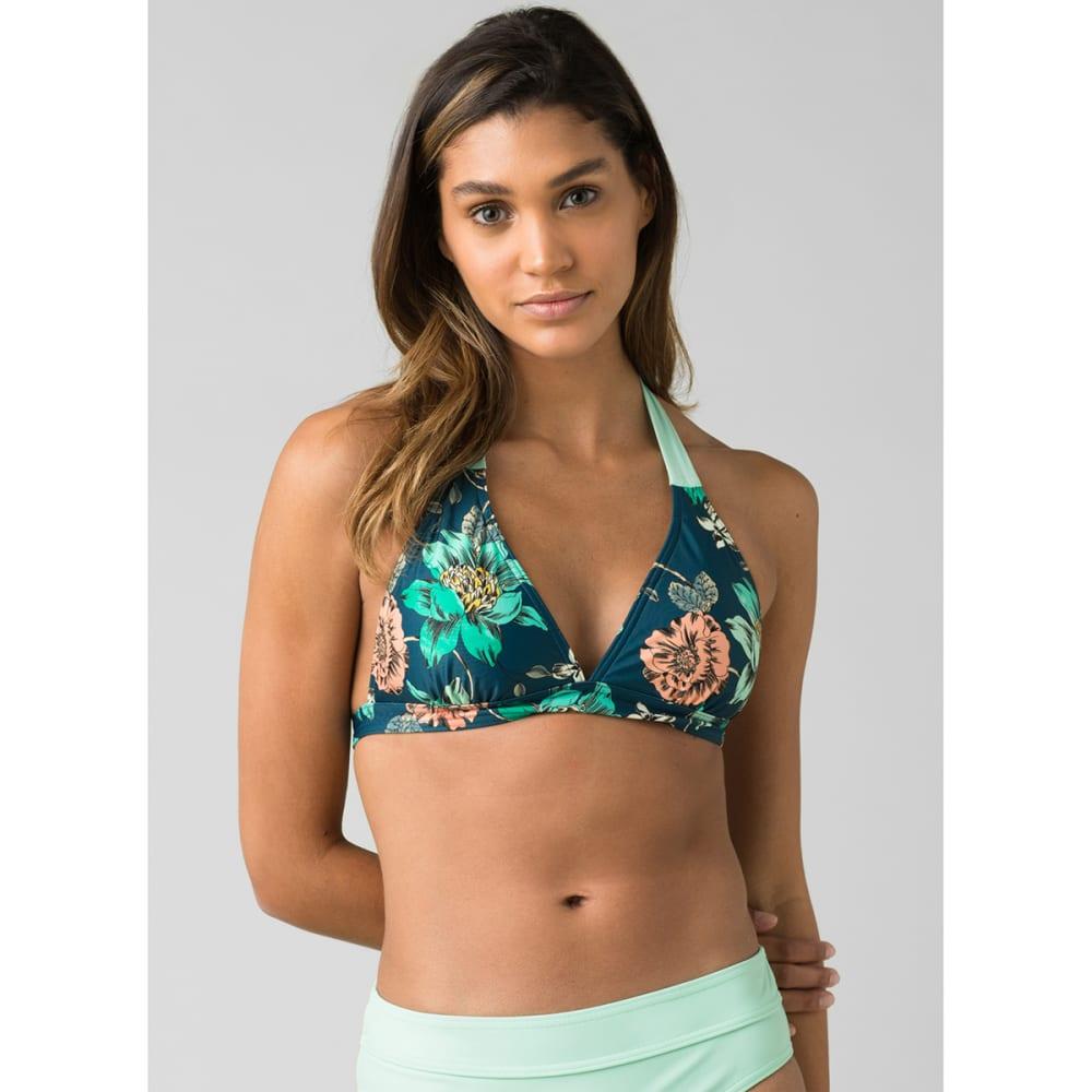 PRANA Women's Lahari Bikini Top - ATLANTIC CAMELIA