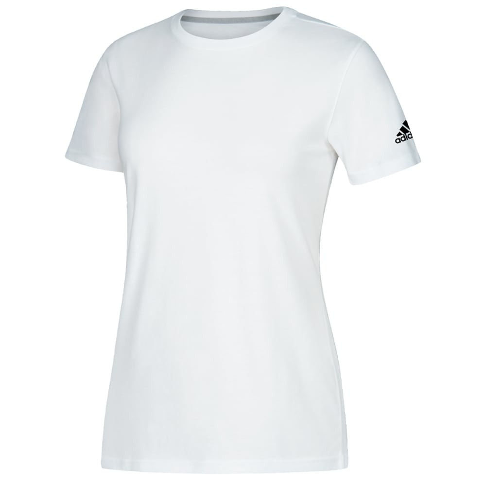 ADIDAS Women's Short-Sleeve Performance Crew Neck Tee M