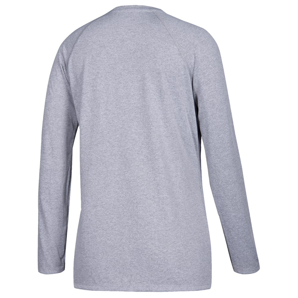ADIDAS Women's Long-Sleeve Climate Tee - GREY-D21211