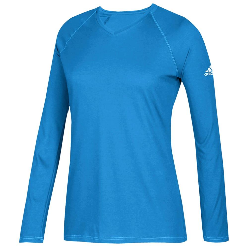 ADIDAS Women's Long-Sleeve Climalite Tee XS