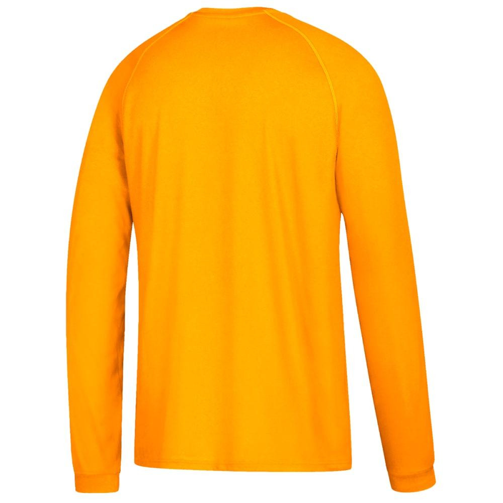 ADIDAS Men's Climalite Long-Sleeve Tee - GOLD-BF9460