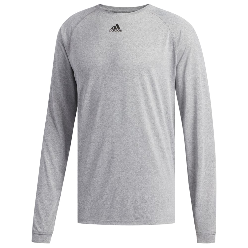ADIDAS Men's Climalite Long-Sleeve Tee XS
