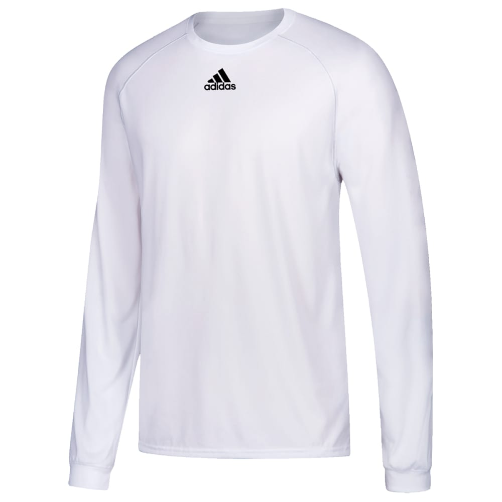 ADIDAS Men's Climalite Long-Sleeve Tee M