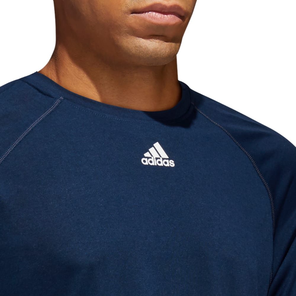 ADIDAS Men's Climalite Short-Sleeve Tee - NAVY-C61870