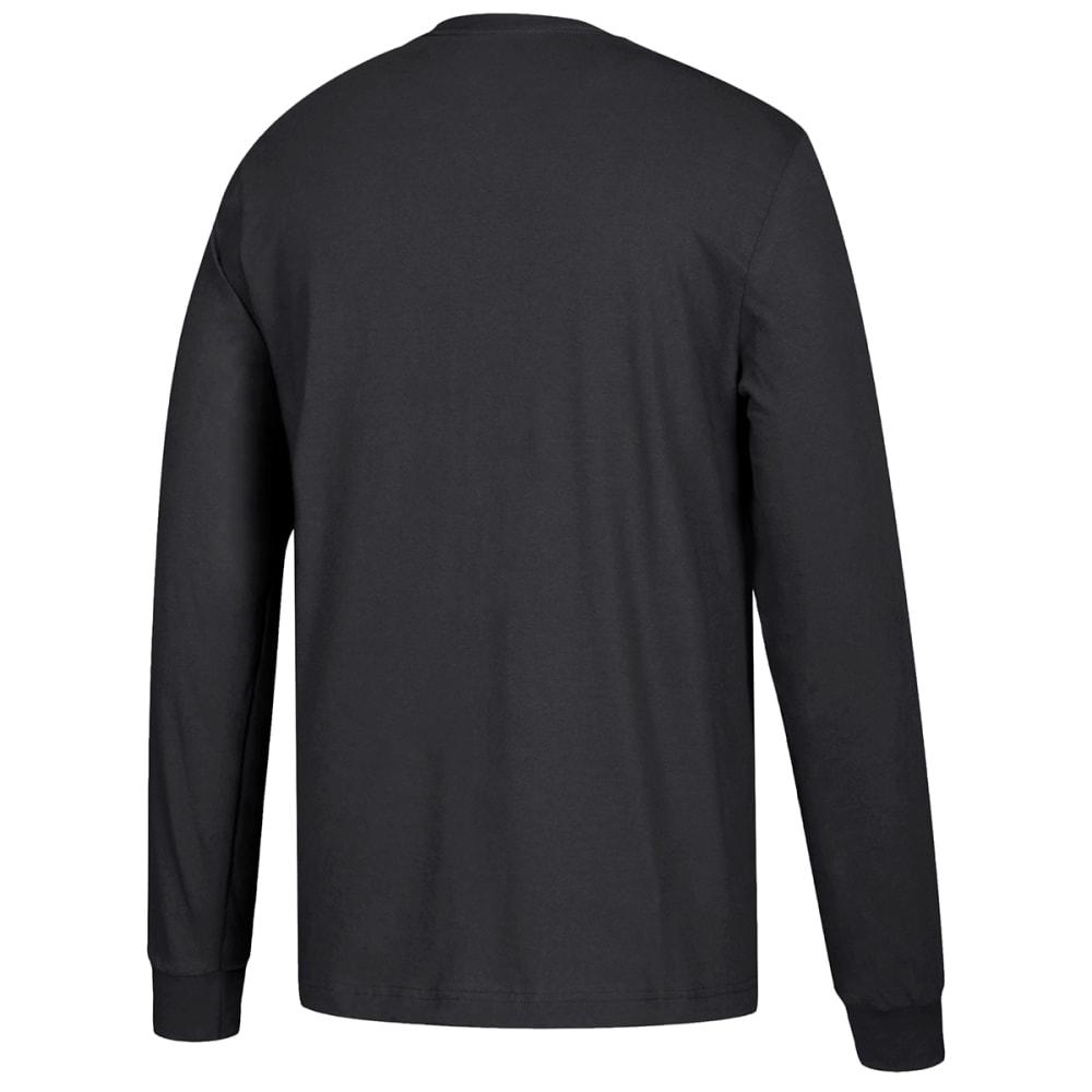 ADIDAS Men's Performance Long-Sleeve Tee - BLACK-H83703