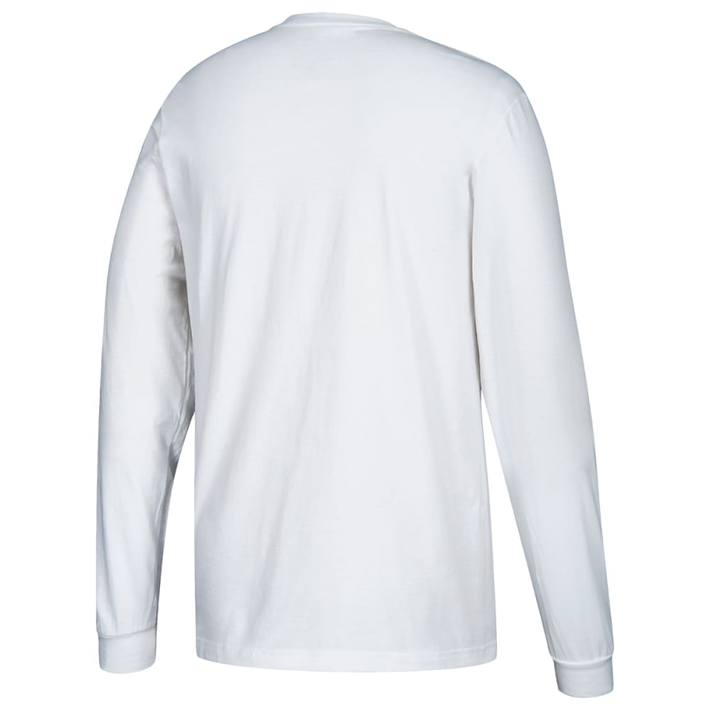 ADIDAS Men's Performance Long-Sleeve Tee - WHITE-H83716