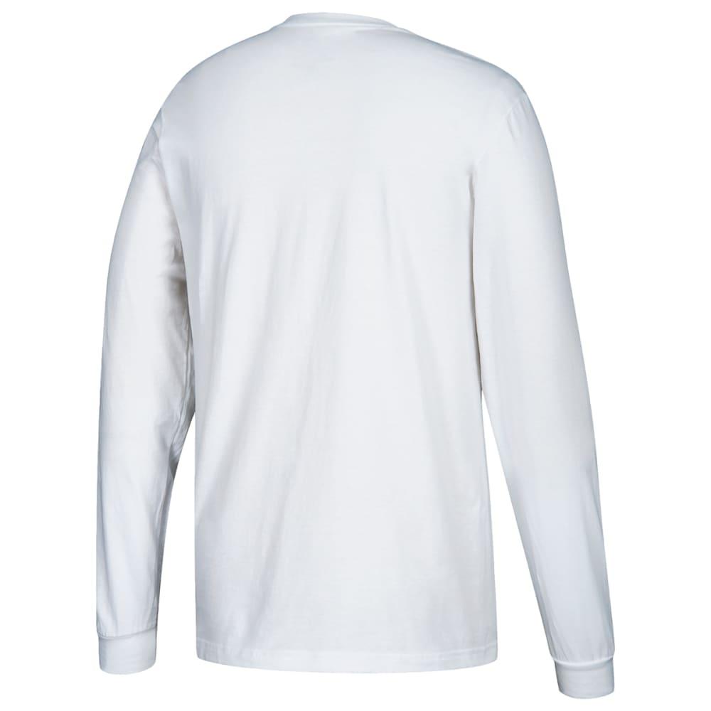 ADIDAS Men's Performance Long-Sleeve Tee - WHITE-H83716