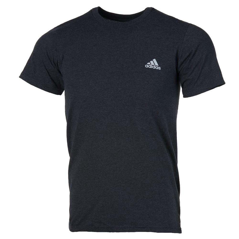 ADIDAS Men's Go To Short-Sleeve Tee - DARK GREY-A85475