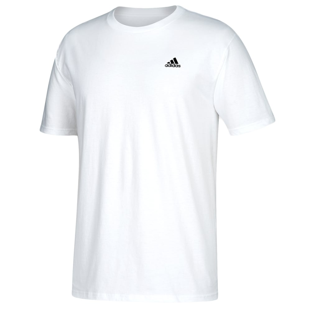 ADIDAS Men's Go To Short-Sleeve Tee - WHITE-CV1476