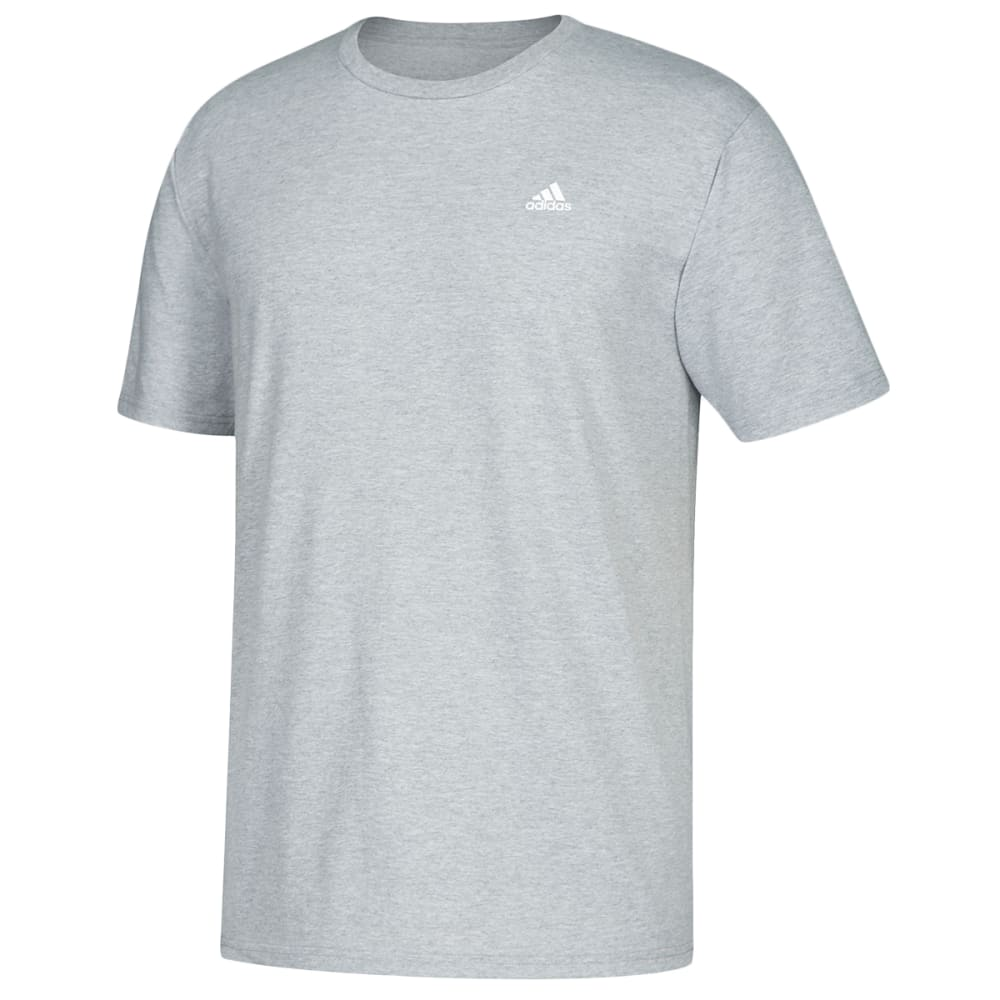 ADIDAS Men's Go To Short-Sleeve Tee - MEDIUM GREY-CV1472