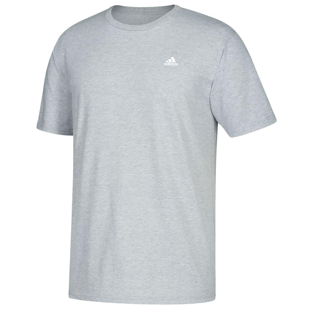 ADIDAS Men's Go To Short-Sleeve Tee - MEDIUM GREY-CV1472