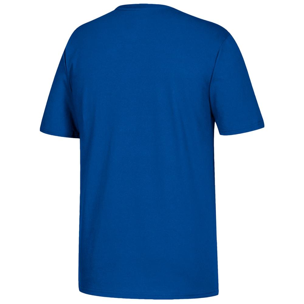 ADIDAS Men's Go To Short-Sleeve Tee - ROYAL-L60178