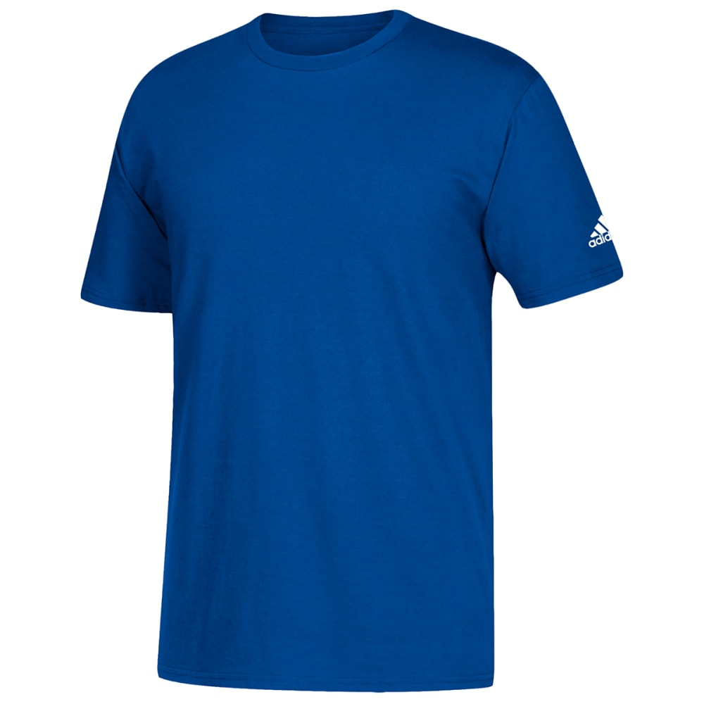 ADIDAS Men's Go To Short-Sleeve Tee - ROYAL-L60178
