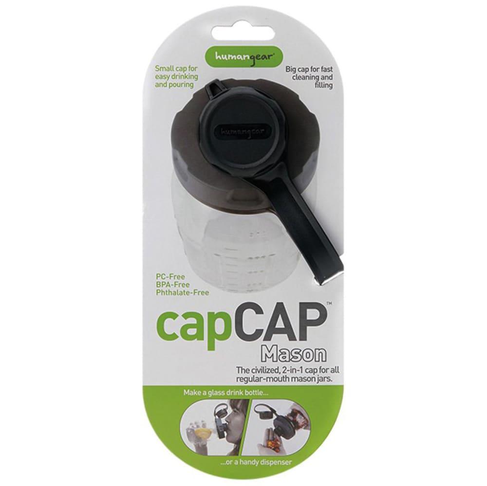 capCAP+ Water Bottle Cap - BLACK