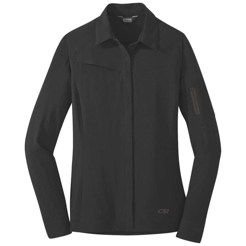 OUTDOOR RESEARCH Women's Ferrosi Shirt Jacket - BLACK - 0001