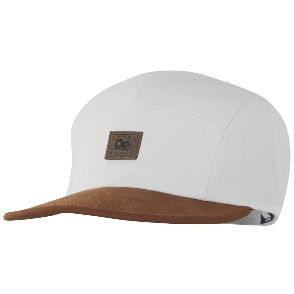 OUTDOOR RESEARCH Men's Murphy 5 Panel Hat - WHITE/CURRY - 1453
