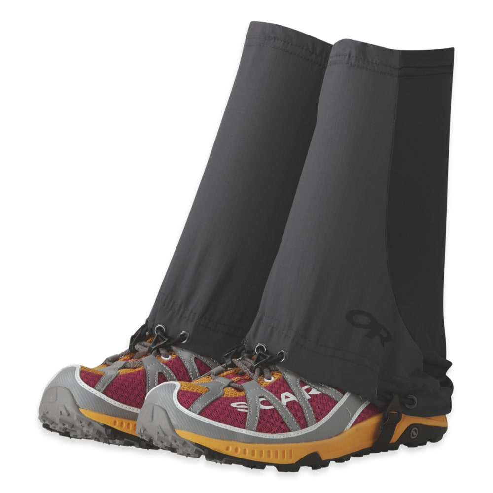 OUTDOOR RESEARCH Men's Thru Gaiters - STORM/BLACK - 1345