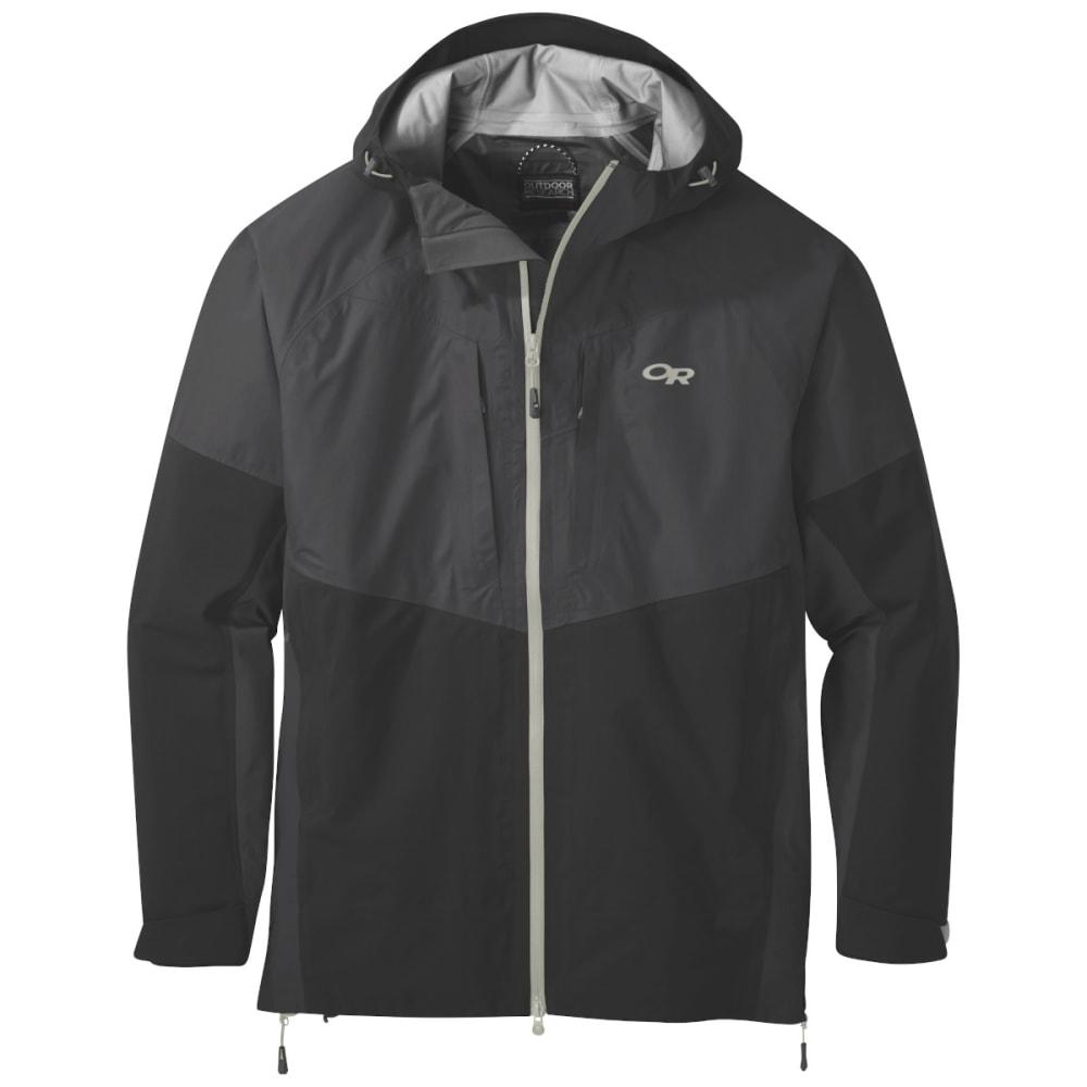 OUTDOOR RESEARCH Men's Furio Jacket - STORM/BLACK - 1345