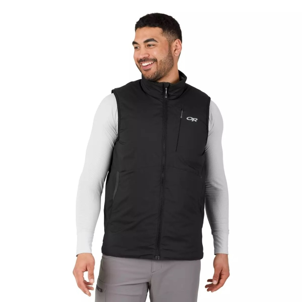 OUTDOOR RESEARCH Men's Refuge Vest - BLACK - 0001