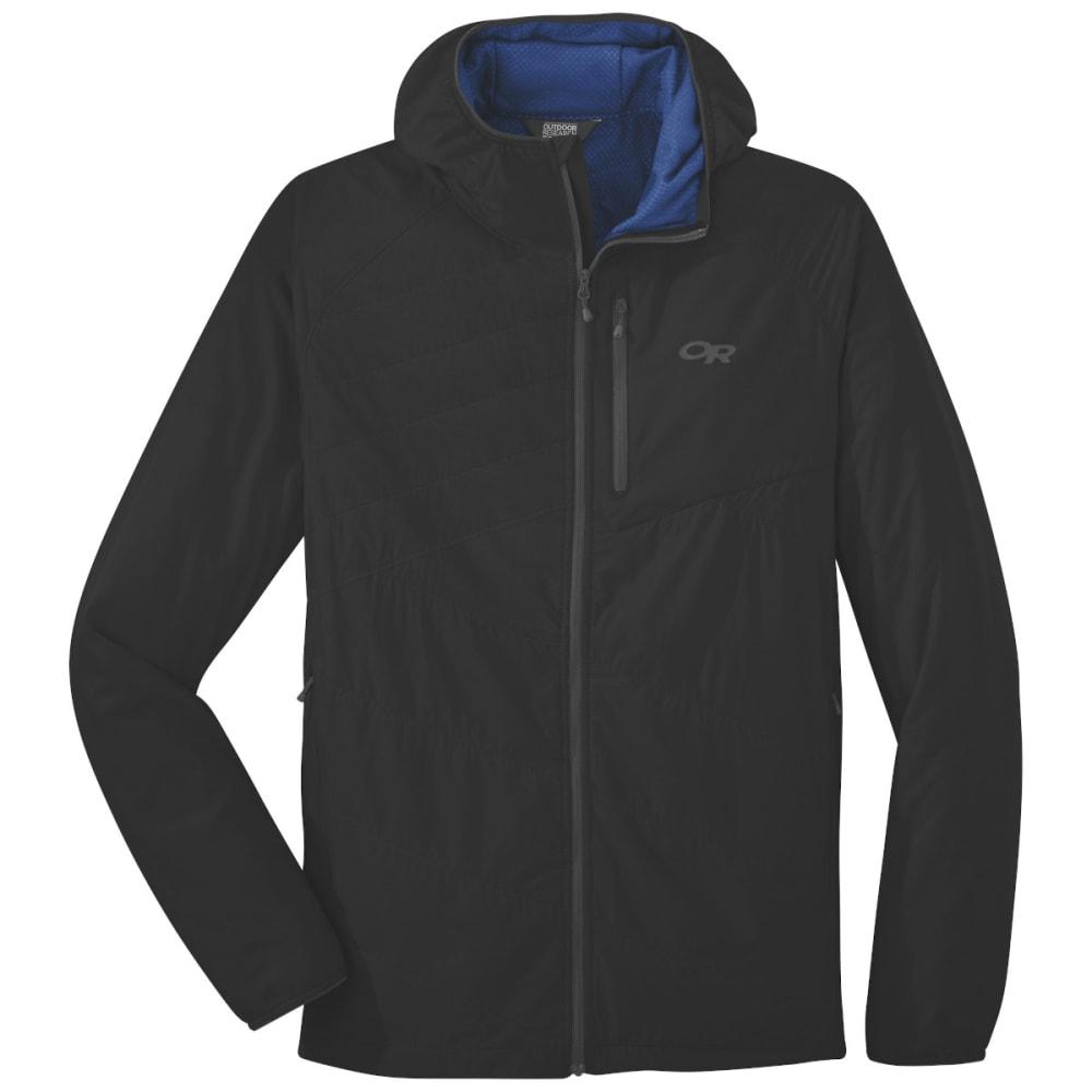 OUTDOOR RESEARCH Men's Refuge Air Hooded Jacket - BLACK - 0001