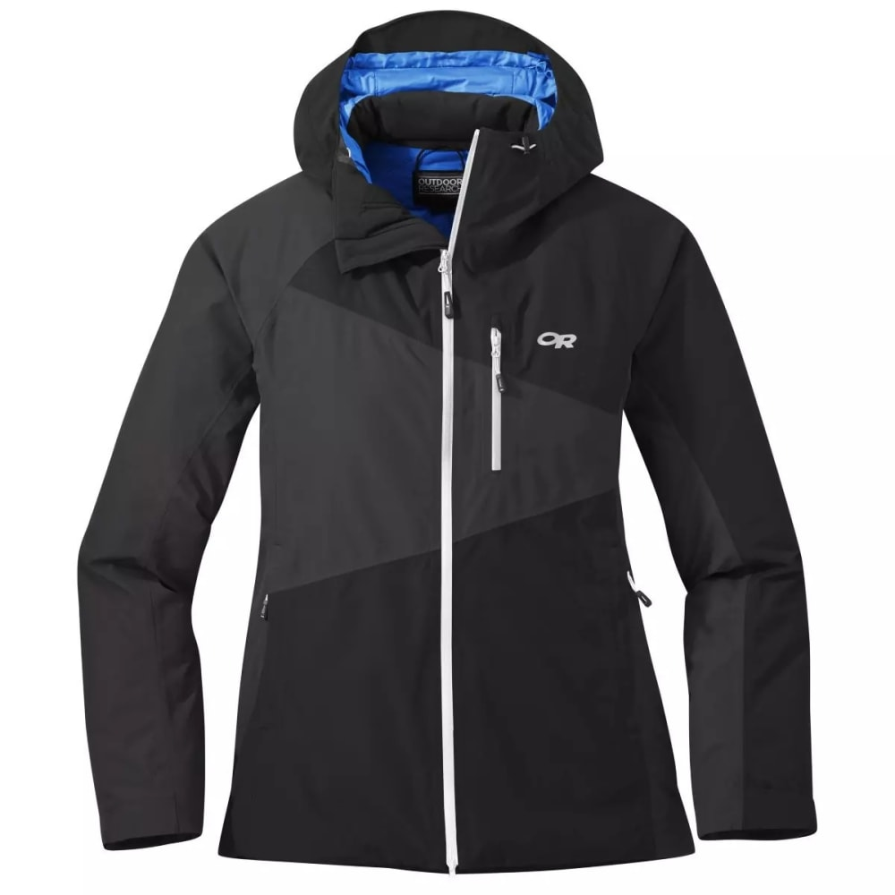 OUTDOOR RESEARCH Women's Fortress Jacket - BLACK/STORM - 1344