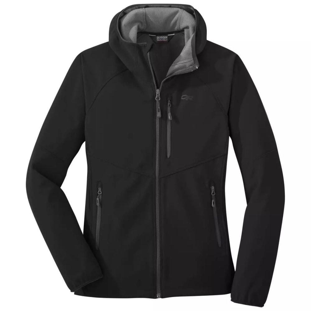 OUTDOOR RESEARCH Women's Ferrosi Grid Hooded Jacket - BLACK - 0001