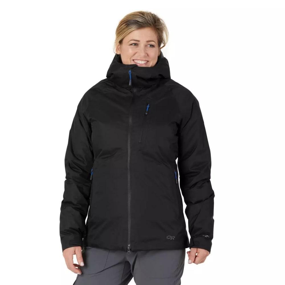 OUTDOOR RESEARCH Women's Floodlight 2 Down Jacket - BLACK - 0001