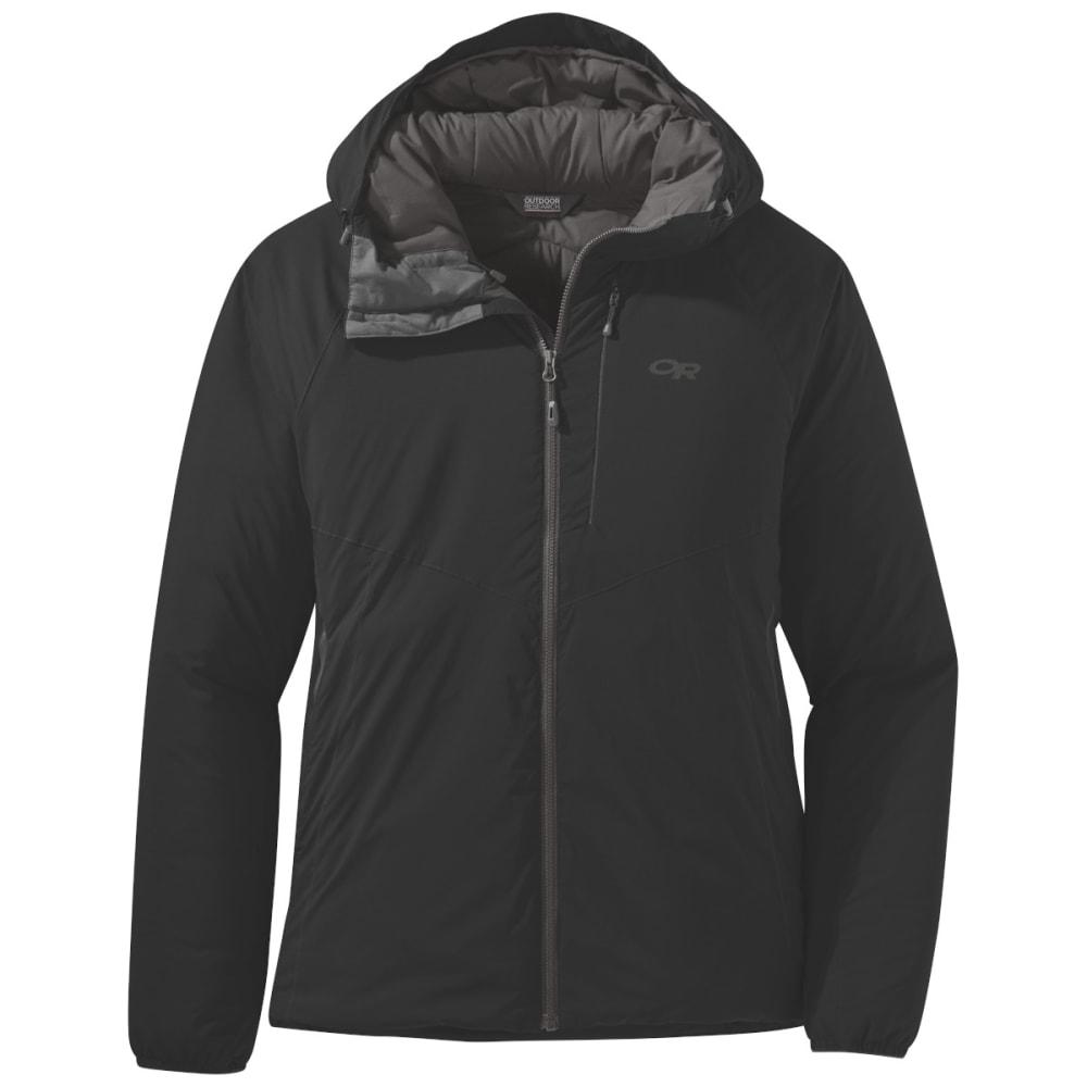 OUTDOOR RESEARCH Women's Refuge Hooded Jacket - BLACK - 0001