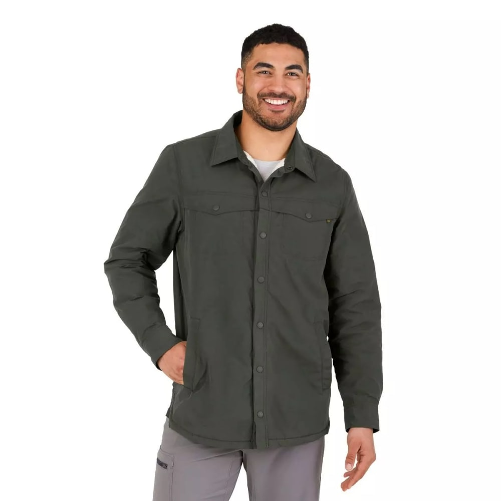 OUTDOOR RESEARCH Men's Wilson Shirt Jacket - FOREST - 0600