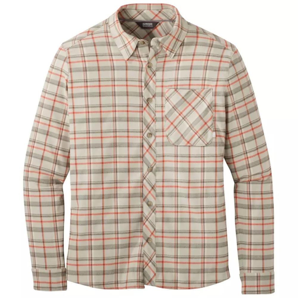 OUTDOOR RESEARCH Men's Kulshan Flannel Shirt - SMOKE - 1575