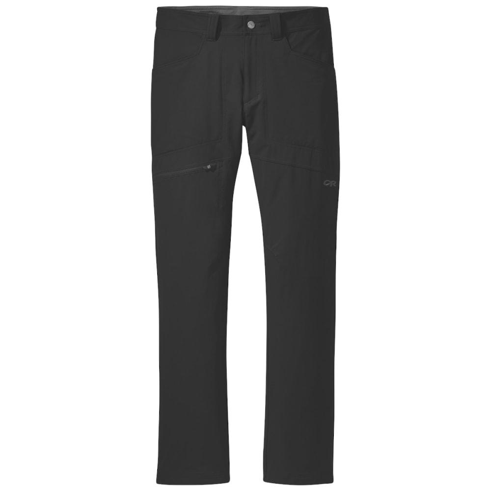 """OUTDOOR RESEARCH Men's Voodoo 32"""" Pants - BLACK - 0001"""