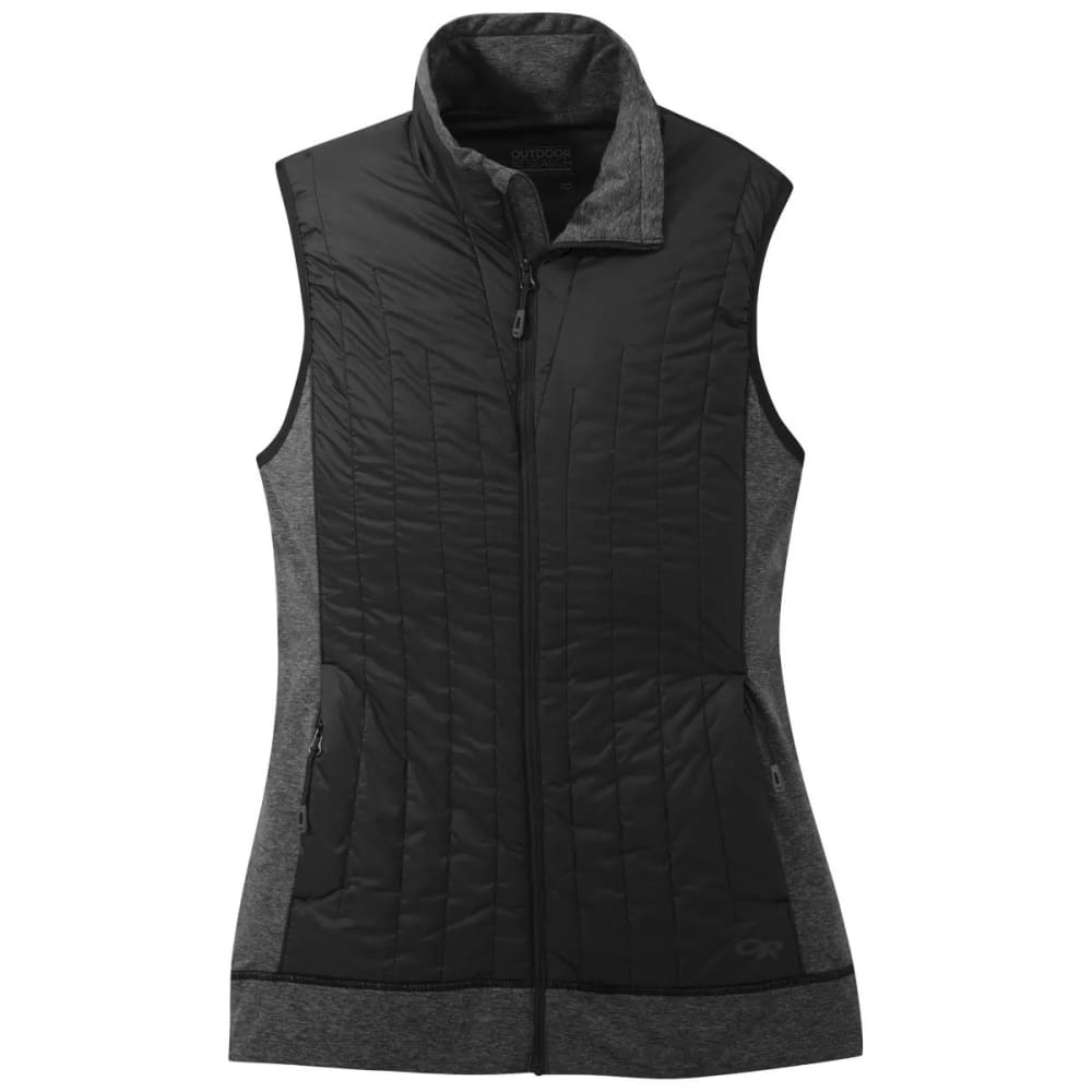 OUTDOOR RESEARCH Women's Melody Hybrid Vest - BLACK - 0001