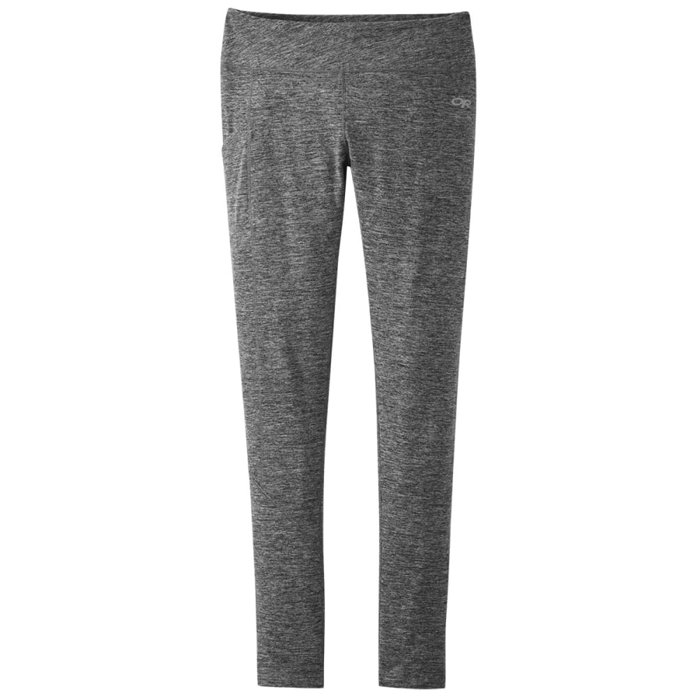 OUTDOOR RESEARCH Women's Melody 7/8 Leggings - BLACK HEATHER-0012
