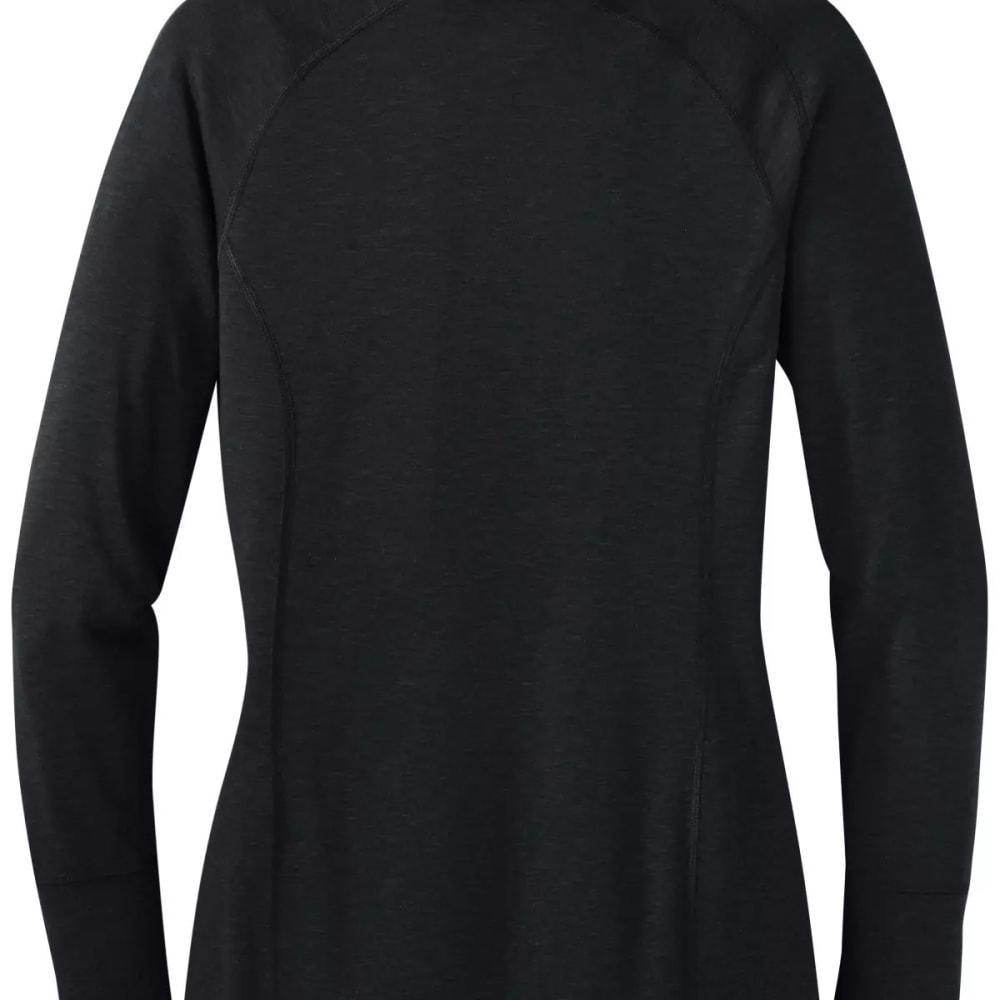 OUTDOOR RESEARCH Women's Cedarosa Pullover Tunic - BLACK - 0001